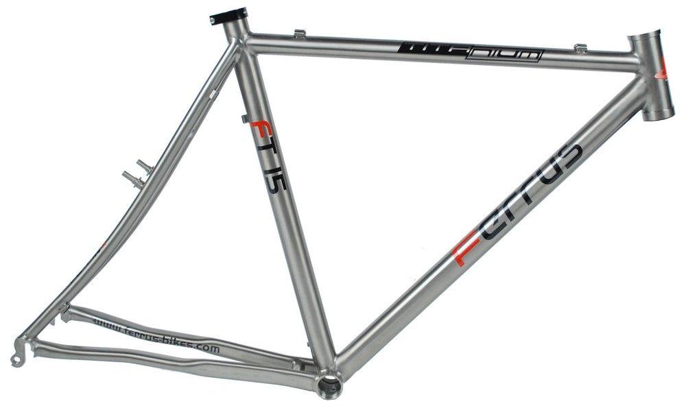 Cadre Ferrus Full Titane Cyclo.Cross FT15 3Al/2.5V Verni- Super Promo