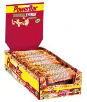 Carton 24 Barres PowerBar Natural Energy Cereal 40g Assorties