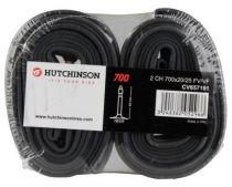 Chambres � Air Hutchinson Butyl 700x20/25 Valve 48mm - Lot de 2