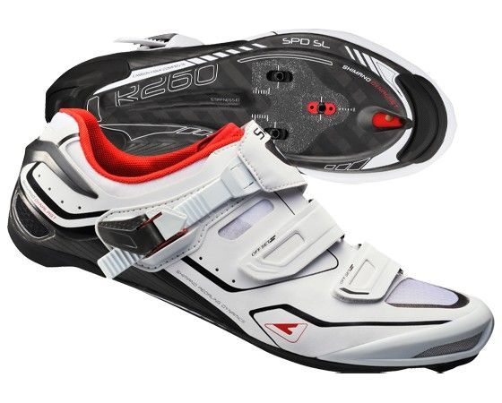 Chaussures Shimano SH-R260 Carbone - New 2015