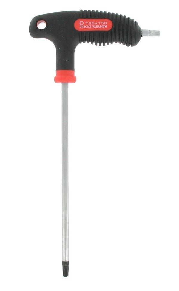 Clé Var Torx T25 pour Vis Fixation Freins Disque Réf CL-09900-25