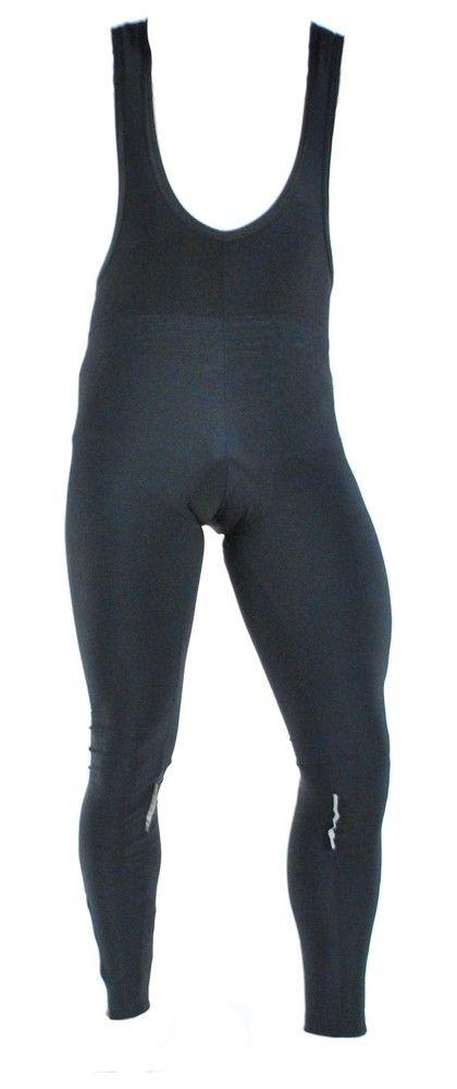 Collant Long Ferrus Griffe Noir Classic Mir à Bretelles