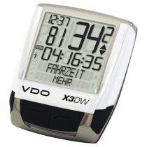 Compteur VDO X3-DW sans Fil Digital Blanc - 22 Fonctions