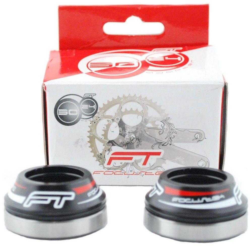 Cuvettes Focustek Shimano + Roulements - Axe 24mm Boîte BB30 - Route