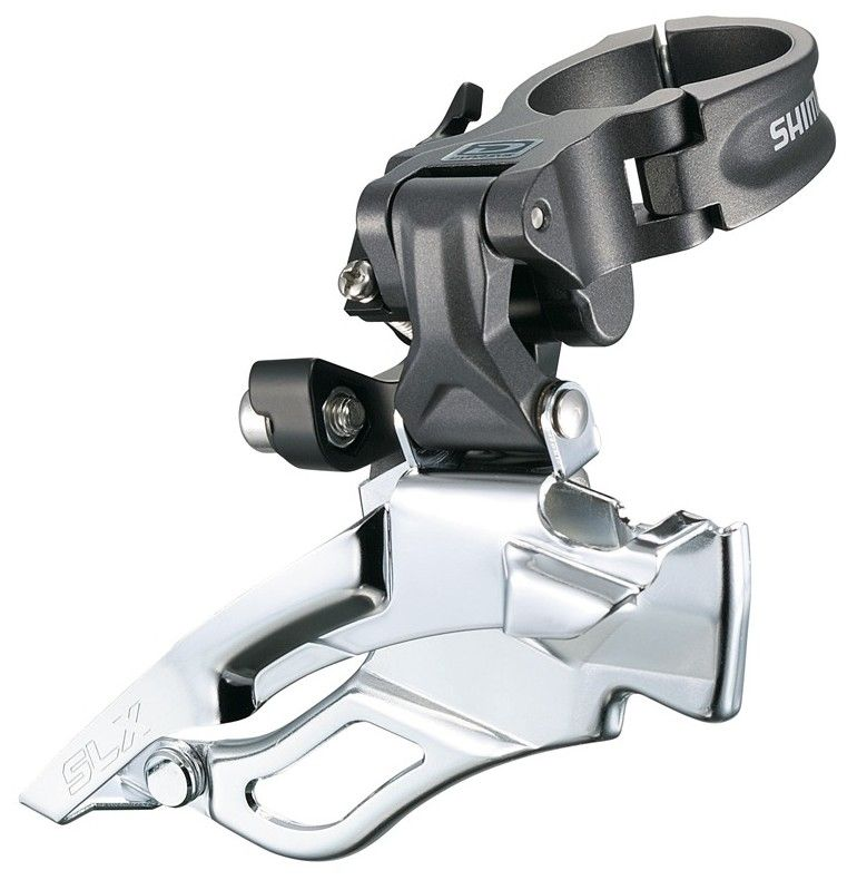 Dérailleur AV Shimano SLX FD-M661 Down - Collier Haut - 3x10v 2012