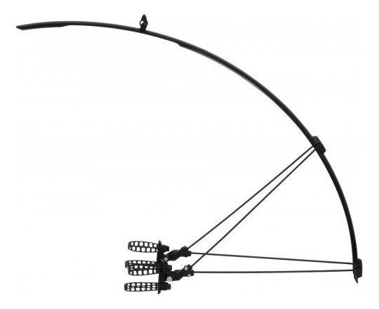 Garde-Boue Route Zefal Shield R30 L.30mm Noir Ref.254.001 - Paire