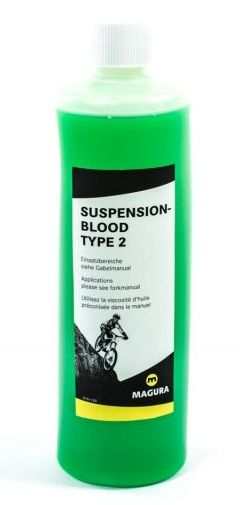 Huile pour Suspension Magura Blood Type 2 SAE 5ISOVG 25 500ml