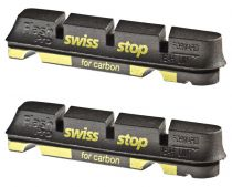 Patins SwissStop Flash Pro Shimano - Black Prince (Jante Carbone) - Paire