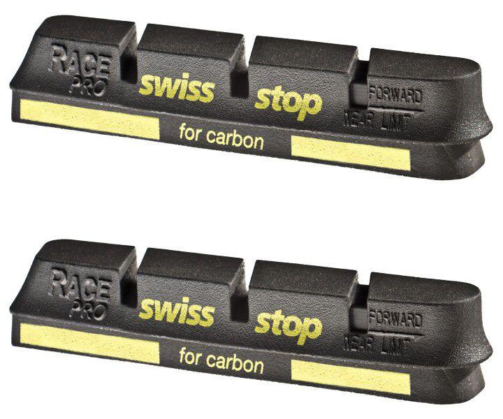 Patins SwissStop Race Pro Campa - Black Prince (Jante Carbone) - Paire