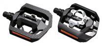 Pedales Shimano Click\'R VTT T420 SPD + Cales