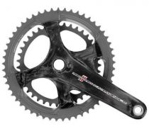 Pedalier Campagnolo Record U.T. Carbone 11v sans Cuvettes