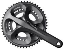 Pedalier Shimano Ultegra 6750 G.Grey 10v Compact + Cuvettes - Promo