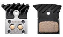 Plaquettes Frein Dis. Rte/Vtt Shimano Ventil� L04C Metal BRS505/805
