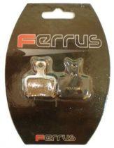 Plaquettes Frein Disque Semi-Métallique Ferrus Formula One-R1-RX