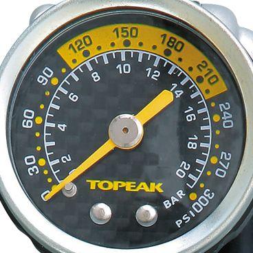 Pompe Topeak Pocket Shock DXG à Mano pour Amortisseur & Fourche