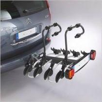 Porte-Vélo Mottez Réf. A018P4RA avec Support Plaque - 4 Vélos