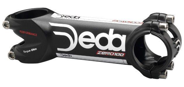 Potence Deda Zero 100 Noir Mat & Blanc New