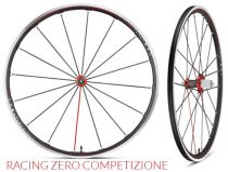 Roues Compagnolo Racing Zero Competizione C17 2-Way-Fit Noir/Rouge