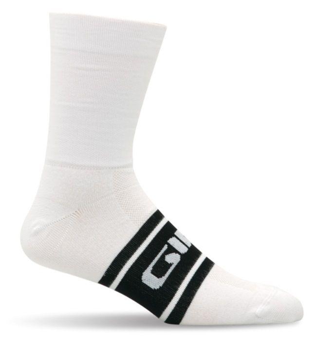 Socquettes Giro Coolmax High-Rise Noir/Blanc
