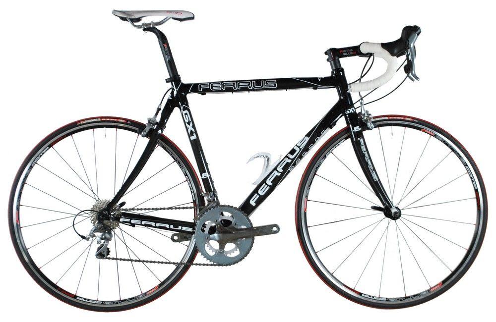 Vélo Ferrus GX1 2014 - Shimano Tiagra Compact 10v - Mavic Aksium WTS