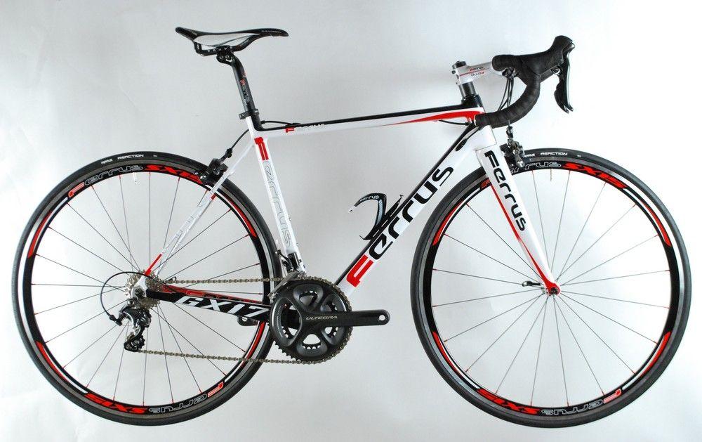 Vélo Ferrus GX17 Blanc - Sram Force 22 11v - Ferrus SX9