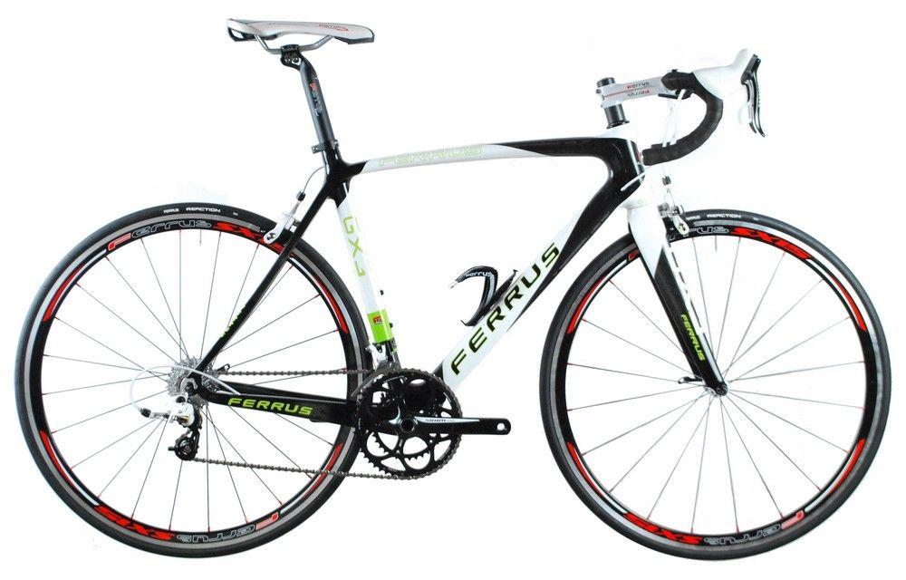 Vélo Ferrus GX3 Cyclo Vert - Shimano 105/5703 Triple