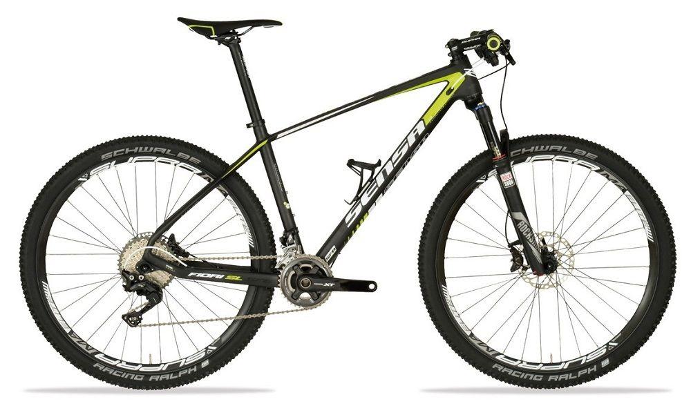VTT Sensa Fiori SL SFB Pro RC 27.5` Carbone - Pédalier 2x11v - 2016