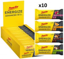 Assortiment 10 Barres PowerBar Energize ADVANCED 55g