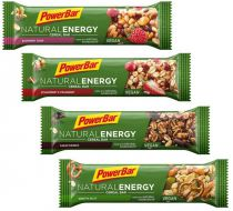 Assortiment 10 Barres PowerBar Natural Energy Cereal 40g