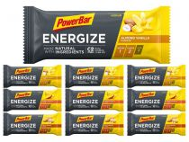 Assortiment 10 Barres PowerBar NEW Energize C2 Max