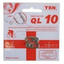 Attache Rapide YBN QL-10 Argent - 10v