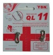 Attache Rapide YBN QL-11 Argent - 11v