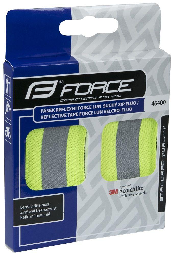 Bandes Velcro Réfléchissantes Force Lun - Paire