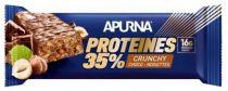 Barre 45g HyperProtéinée Apurna Proteines 35% Crunchy