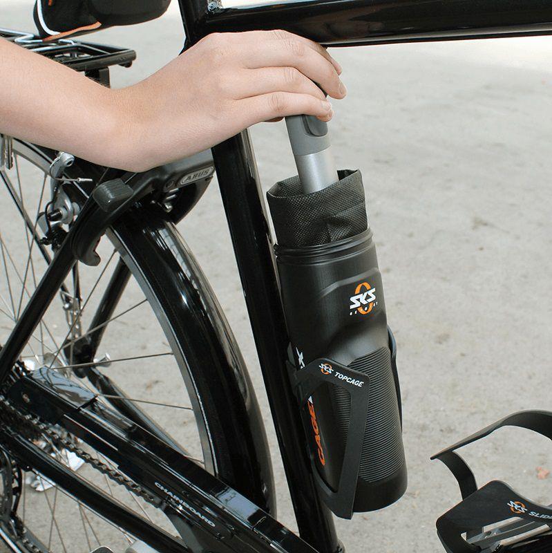 Bidon Porte-Outils SKS CageBox avec Housse nylon