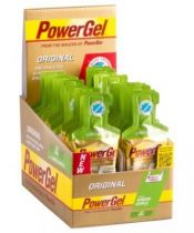 Boite 24 Sachets PowerBar Power Gel Assortis 41gr