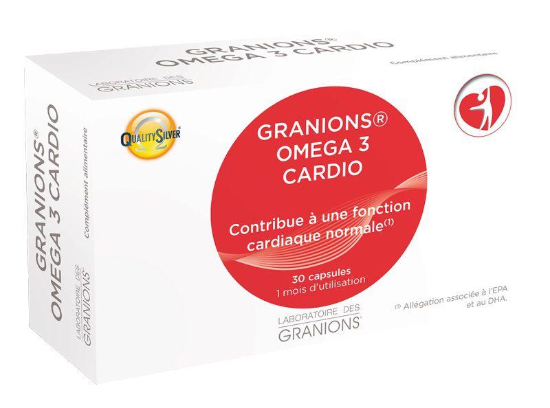Boîte 30 Capsules Eafit Granions Omega 3