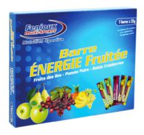 Boîte 5 Barres Energie Fruitée 35g Fenioux