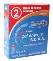 Boite 6 Dosettes 42g Gel Energie BCAA Fenioux - Milieu de Course