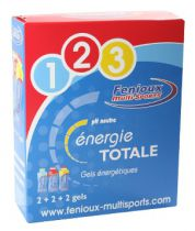 Boîte 6 Gels Sticks Energie Totale Fenioux: 2 Express + 2 Optimum + 2 B.C.A.A.