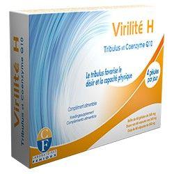 Boite 60 Gélules Virilité H Tribulus & Coenzyme Q10 Fenioux 345mg