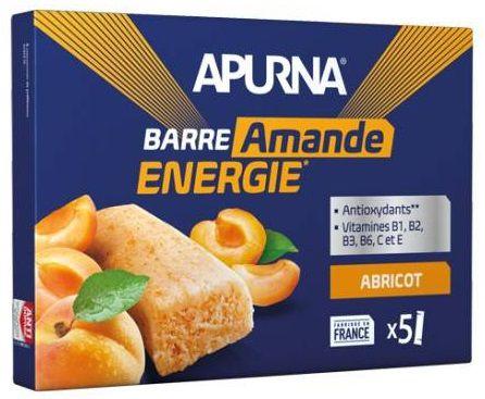 Boîte de 5 Barres Energie Fondante Apurna (5x25g)