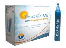 Boîte Tout en Vie de 14 Unicadoses 10ml Spiruline & Phycocyanine