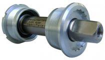 Boîtier Pédalier T.A. Axix Light Acier Conique 122mm BSC