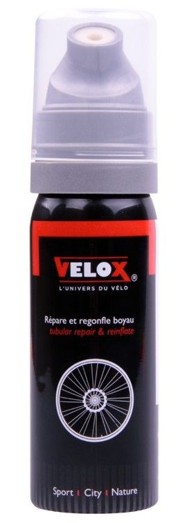 bombe velox 50ml raccord direct r pare et regonfle boyau. Black Bedroom Furniture Sets. Home Design Ideas