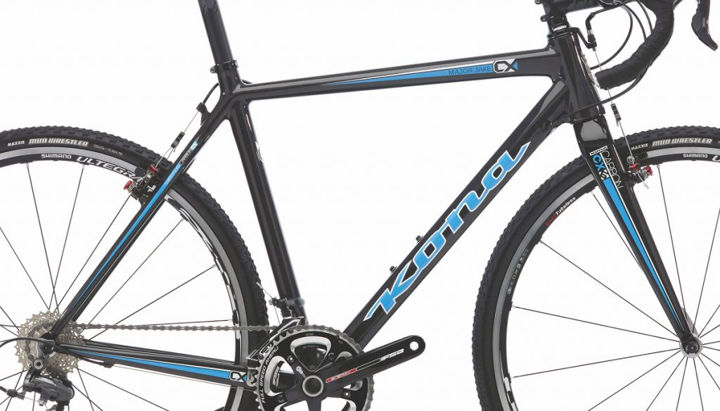 Cadre & Fourche Kona Major Jake Carbone Cyclo-Cross V.Brake