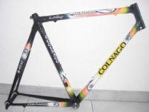 Cadre Colnago C40 B-Stay 2003 T.57 S/C 1` Lx14 Jaune/Carbone