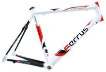 Cadre Ferrus CR3.SL Alu avec arrière Carbone - Design Blanc