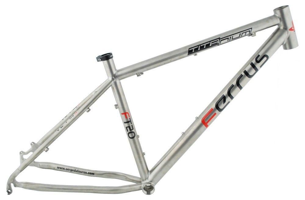 Cadre Ferrus Full Titane MTB FT20 3Al/2.5V - 2011