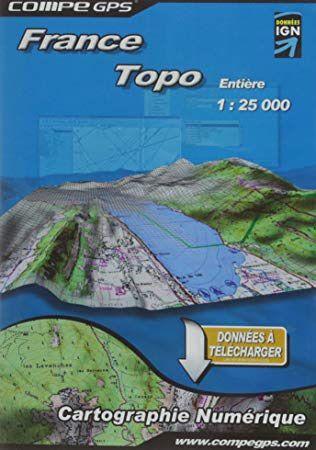 Carte France Complète au 1/25000 pour GPS TwoNav
